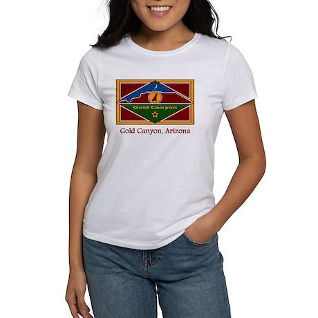 Gold Canyon AZ Flag Women's T-Shirt