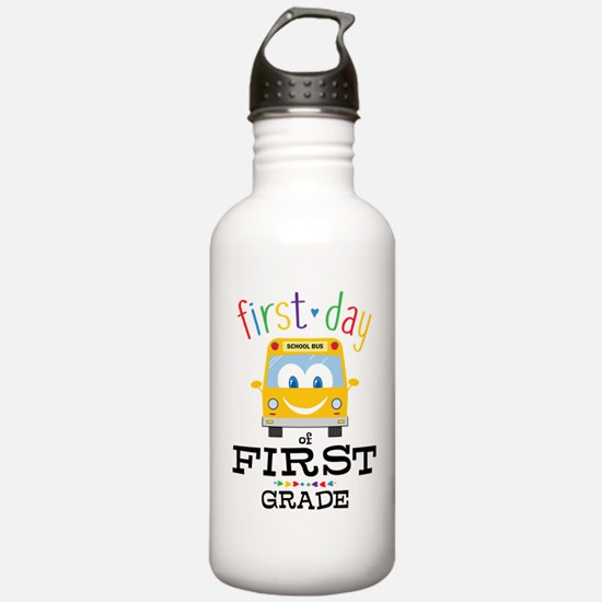 First Grade Sports Water Bottle
