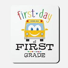 First Grade Mousepad