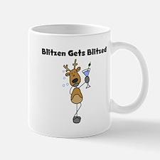 Blitzen Gets Blitzed Mug