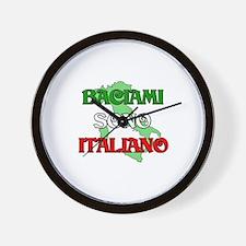 Baciami Sono Italiano (Kiss Me I'm Italian) Wall C