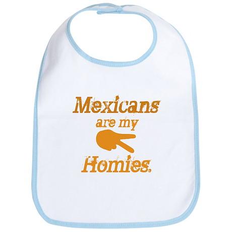 Mexican Homies Bib