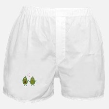 Avocados in love Boxer Shorts