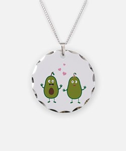 Avocados in love Necklace