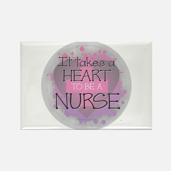 It Takes a Heart to be a Nurse Magnets