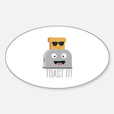 Toaster with cool bread Decal