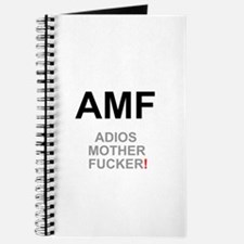 TEXTING SPEAK - - AMF ADIOS MOTHER FUCKER! Journal