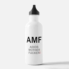 TEXTING SPEAK - - AMF Water Bottle