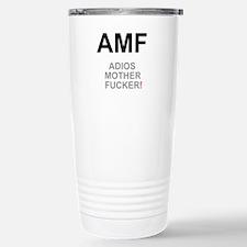TEXTING SPEAK - - AMF A Travel Mug