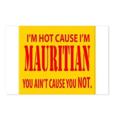 hot mauritian Postcards (Package of 8)