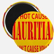 hot mauritian Magnet