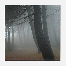 Mysterious Mist Tile Coaster