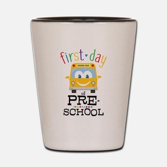 Preschool Shot Glass