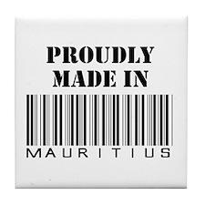 made in Mauritius Tile Coaster