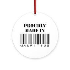 made in Mauritius Ornament (Round)