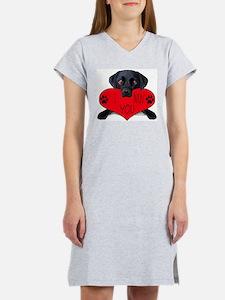 Cute Funny valentines Women's Nightshirt
