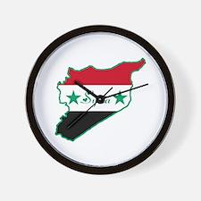 Cool Syria Wall Clock