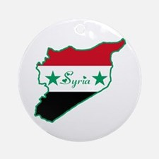 Cool Syria Ornament (Round)
