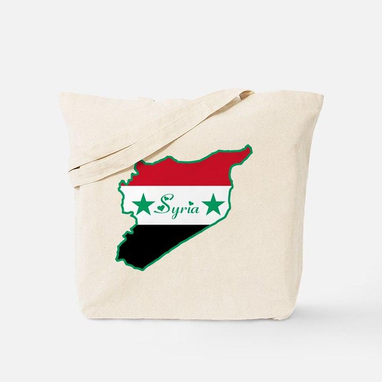 Cool Syria Tote Bag