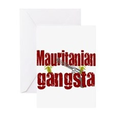 Mauritanian Gangsta Greeting Card