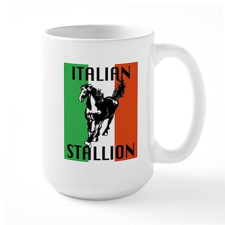 Italian Stallion Large Mug