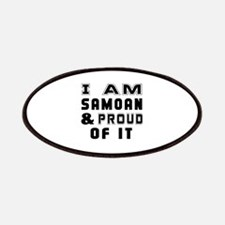 I Am Samoan And Proud Of It Patch