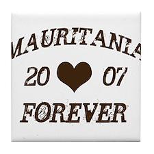 Mauritania Forever Tile Coaster