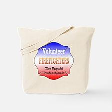 Volunteer firefighters Tote Bag