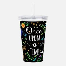 Funny Book lovers Acrylic Double-wall Tumbler