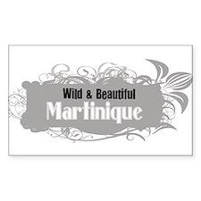 Wild Martinique Rectangle Decal