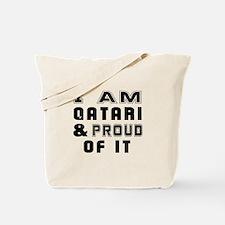 I Am Qatari And Proud Of It Tote Bag