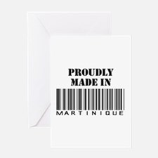 made in Martinique Greeting Card