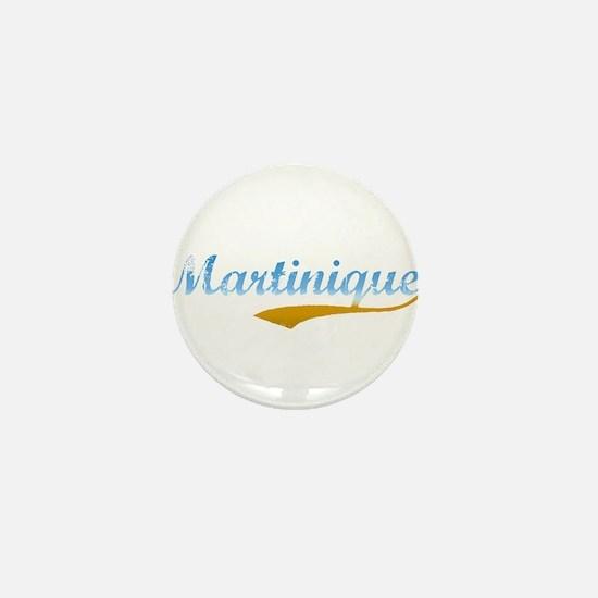 beach Martinique Mini Button