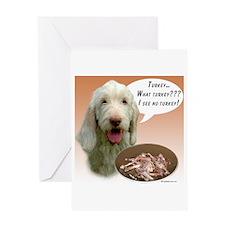 Spinone Turkey Greeting Card