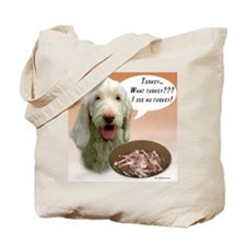Spinone Turkey Tote Bag