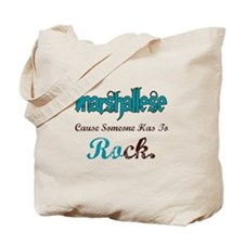 Marshallese Rock Tote Bag