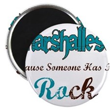 Marshallese Rock Magnet
