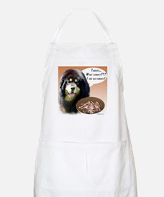 Tibetan Mastiff Turkey BBQ Apron