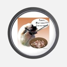 Tibbie Turkey Wall Clock