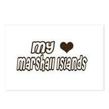 my heart Marshall Islands Postcards (Package of 8)