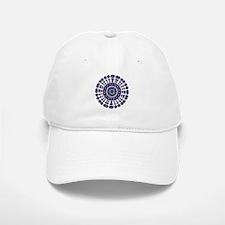 Bohemian Mandala purple and blue Baseball Baseball Cap