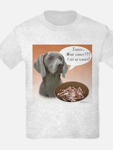 Weimaraner Turkey T-Shirt