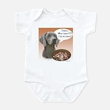 Weimaraner Turkey Infant Bodysuit