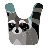 Raccoons Fleece Bibs