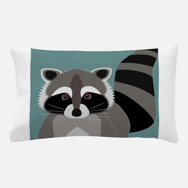 Raccoon Rascal Pillow Case