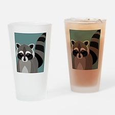 Raccoon Rascal Drinking Glass