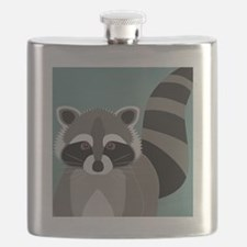 Raccoon Rascal Flask