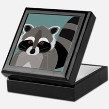 Raccoon Rascal Keepsake Box