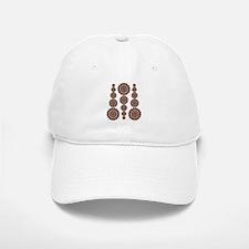 Bohemian pattern with mandalas Baseball Baseball Cap