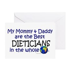 Best Dieticians In The World Greeting Card
